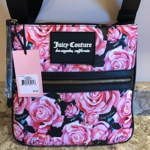 Juicy Couture In Bloom OnThe Right Track Crossbody